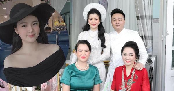 Con dâu xinh như hoa hậu của bà Phương Hằng - người đang