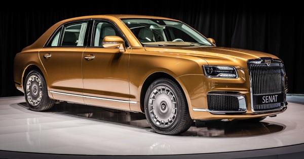 Chiếc xe 'thường dân' từ mẫu xe bảo vệ Putin khiến thế giới choáng ngợp