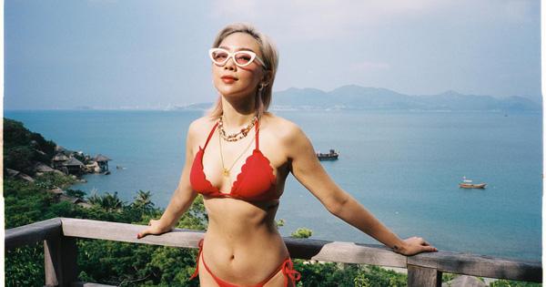 Tóc Tiên khoe loạt ảnh bikini nóng bỏng do chính ông xã chụp