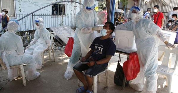 Số ca mắc Covid-19 ở Thái Lan vượt mốc 9.600 ca/ngày
