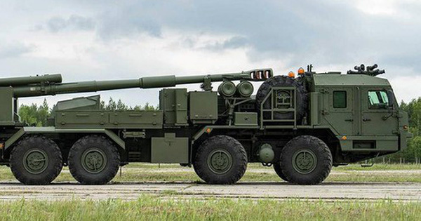 Lực lượng lính dù Nga có thể được trang bị lựu pháo bánh lốp tự hành
