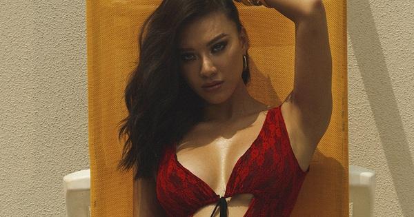 """Kim Duyên tung ảnh nóng bỏng và phản ứng đặc biệt khi bị gọi là """"cô bé đô con"""""""