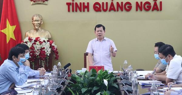 Hàng loạt lãnh đạo tỉnh Quảng Ngãi là F2, phải tự cách ly tại nhà