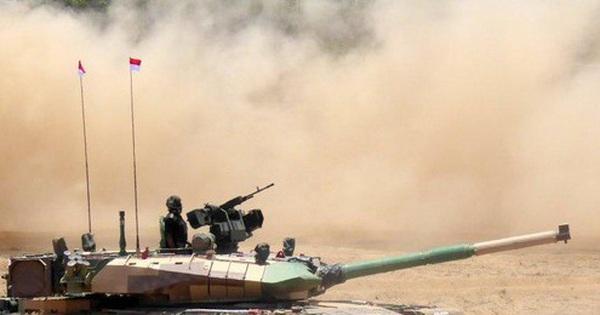 Cuộc đấu xe tăng Trung Quốc-Ấn Độ trên