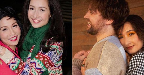 Con gái cả của Mỹ Linh - Anh Quân vừa đính hôn bạn trai Tây xinh đẹp, giỏi giang ra sao?
