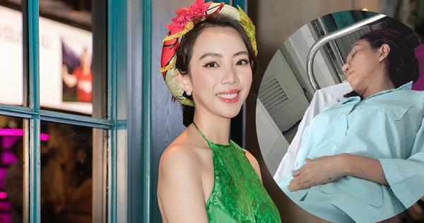 Thu Trang bức xúc trước tin đồn bị bệnh phải nhập viện