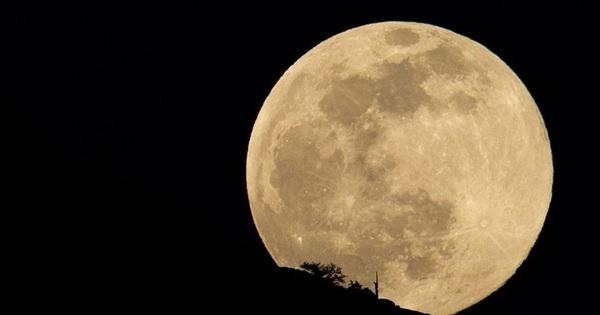 Cơ hội ngắm siêu trăng cuối cùng của năm 2021