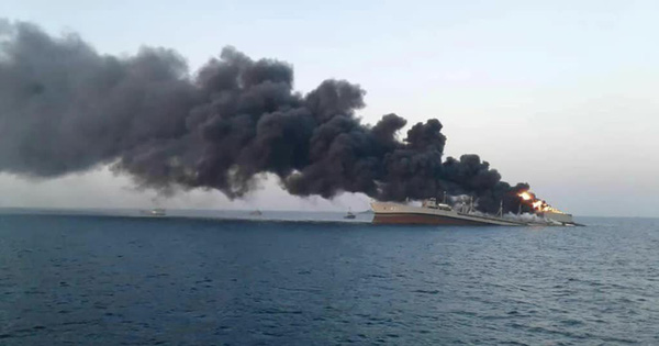 Thổ Nhĩ Kỳ nhận 'tối hậu thư': Rút ngay, nếu không F-16 bị bắn hạ - Điểm bất thường vụ tàu Iran bốc cháy 20 tiếng trước khi chìm nghỉm