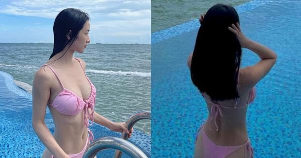 Người đẹp từng đóng cảnh nóng với Quách Ngọc Ngoan khoe thân hình nóng bỏng tuổi 22