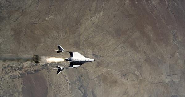 Cú bứt tốc 'thần sầu', nhanh gấp 3,5 lần tốc độ âm thanh của phi cơ đưa tỷ phú Anh lên rìa không gian: Cả thế giới sẽ được xem trực tiếp!