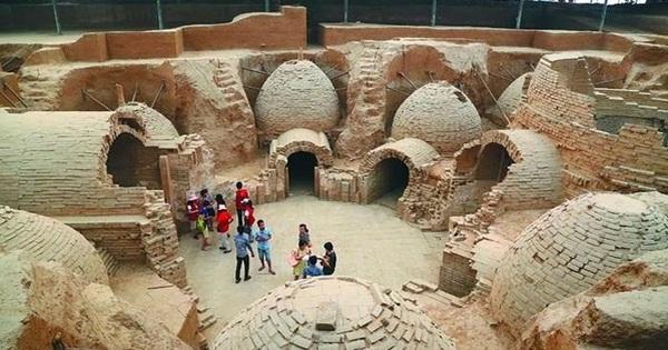 Phát hiện lăng mộ nghìn năm đồ sộ hơn lăng Từ Hi Thái hậu: 12 quan tài chứa bí mật gì?