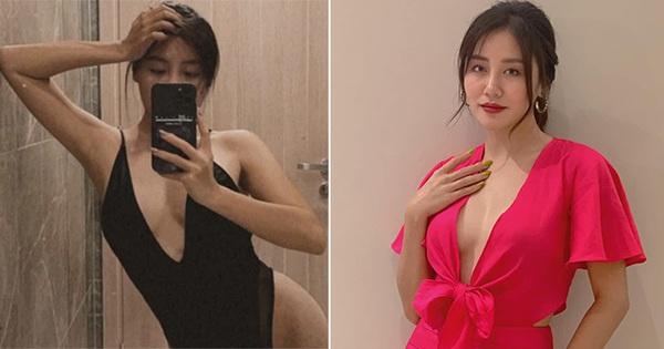 Vẻ nóng bỏng tuổi 27 của Văn Mai Hương