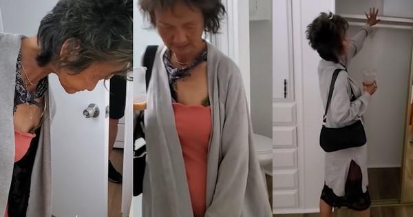 Kim Ngân ăn mặc khác lạ khi đi xem nhà mới