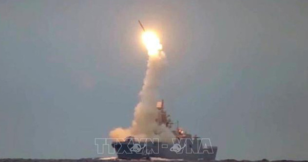 Nga phóng thử tên lửa siêu thanh Tsirkon từ tàu ngầm