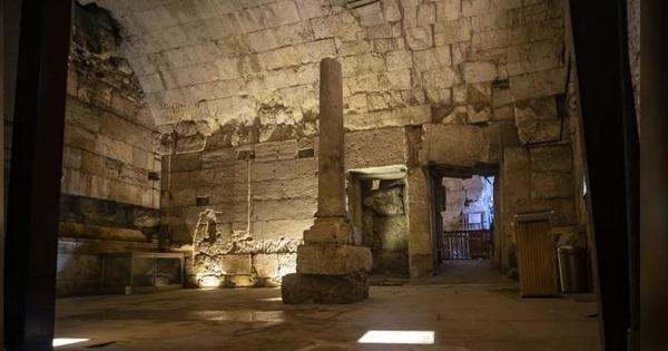 Khai quật được tòa nhà tráng lệ thời La Mã tại Israel