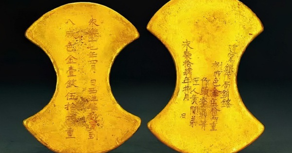 Bí ẩn về tình yêu phía sau hai thỏi vàng được tìm thấy trong cổ mộ hơn 600 năm