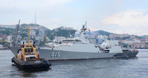 Biên đội tàu Việt Nam đến LB Nga tham gia Lễ Duyệt binh và Army Games 2021