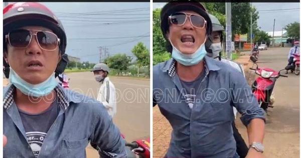 Nam thanh niên cả gan chửi bới, đạp cảnh sát ở chốt kiểm soát dịch tại Đồng Nai là ai?
