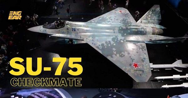 Tiêm kích Su-75 Nga khiến thế giới điên đảo, khao khát: Không phải từ trên trời rơi xuống - x��� s��� vietlott