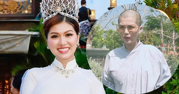 Hoa hậu đông con nhất Việt Nam, từng gây xôn xao khi cạo trọc đầu giờ ra sao? - x��� s��� vietlott