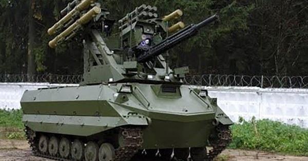 Xem cách robot chiến đấu của Nga hạ gục phiến quân ở Syria