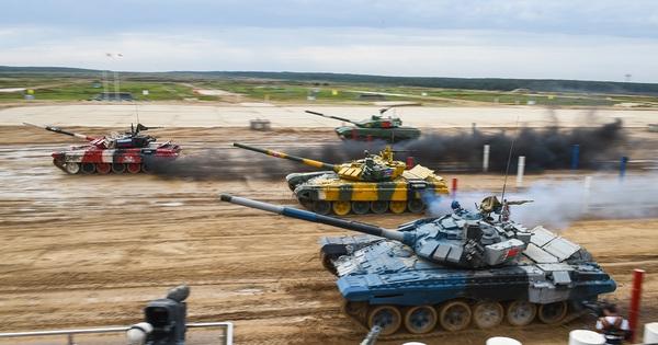 Tank Biathlon 2021: Soi tính năng khủng của các mẫu xe tăng
