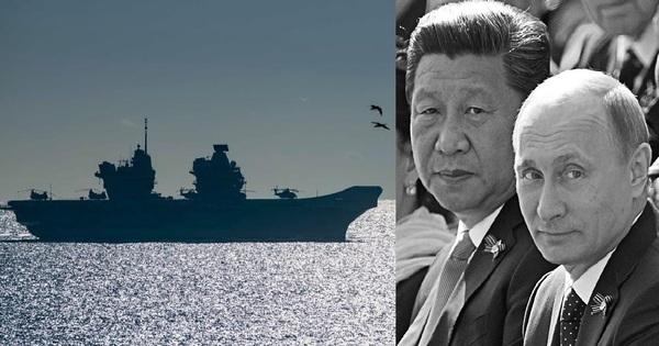Đại chiến Thái Bình Dương: Nga - Trung đang