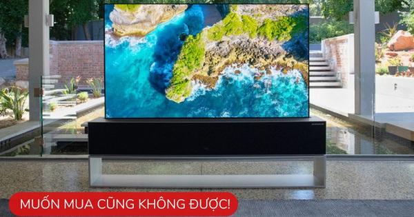 """5 mẫu TV """"đỉnh chóp"""" của độc lạ, có loại giá chỉ 21 triệu, có loại muốn mua cũng chẳng được"""