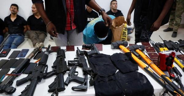 Biệt kích ám sát Tổng thống Haiti vũ trang