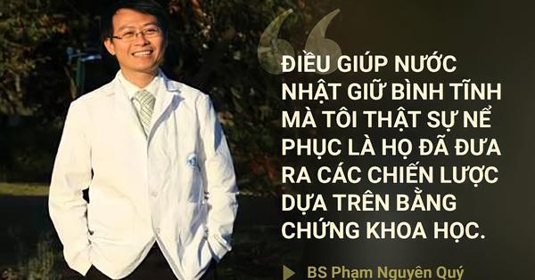Kinh nghiệm sống giữa COVID-19 vẫn an toàn của BS Việt ở Nhật và 5 ví dụ về cách chống dịch