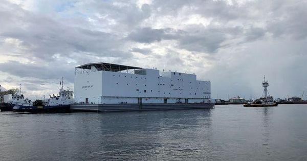 Con tàu bất thường nhất của Hải quân Mỹ