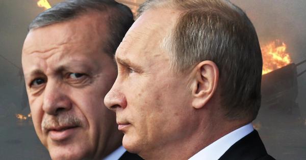 Mặc Thổ Nhĩ Kỳ rên xiết ở Syria, Nga không