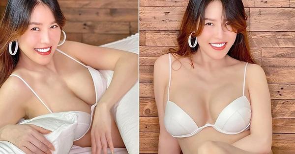 Quế Vân tung ảnh nóng bỏng sau 26 ngày sinh con thứ ba