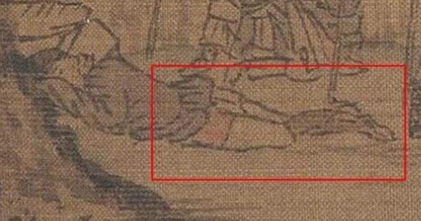 Phóng to 100 lần bức tranh cổ, cư dân mạng Trung Quốc 'ngượng đỏ mặt' vì một chi tiết nhỏ: Thế này cũng dám làm!