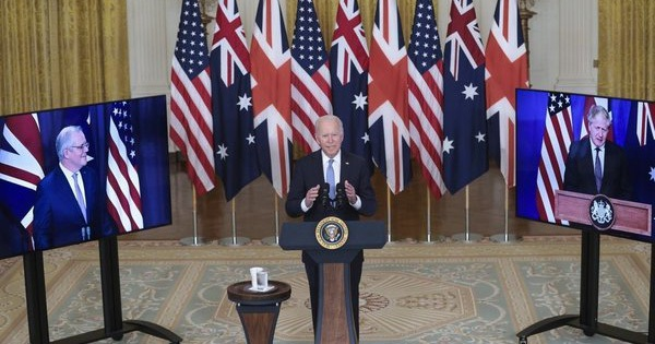 Mục đích Mỹ, Anh và Australia thành lập liên minh an ninh 'lịch sử'