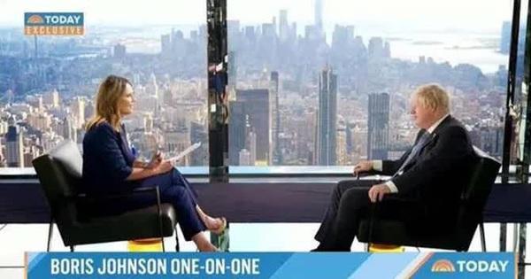 Thủ tướng Boris Johnson làm điều bất ngờ bên lề kỳ họp LHQ