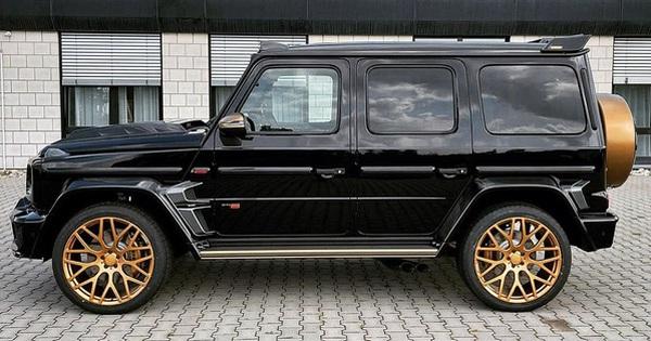 Đại lý tư nhân chào hàng Mercedes-AMG G 63 độ Brabus cực độc, thuộc 1 trong 5 chiếc trên toàn thế giới được ''mạ vàng''
