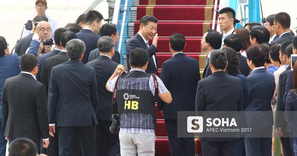 Chuyên cơ của Chủ tịch Trung Quốc Tập Cận Bình rời Đà Nẵng bay ra Hà Nội