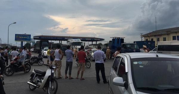 Cục trưởng Cục CSGT trực tiếp chỉ đạo xử lý tình hình tại trạm BOT Quốc lộ 5