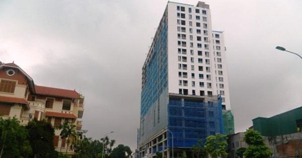 """Chủ đầu tư nhà 8B Lê Trực khởi kiện, UBND quận Ba Đình: """"Đó là quyền của doanh nghiệp"""""""