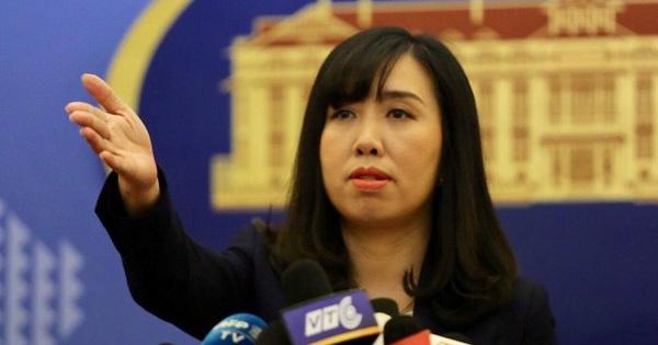 Việt Nam phản ứng việc Trung Quốc công bố diễn tập quân sự trong khu vực ngoài cửa Vịnh Bắc Bộ