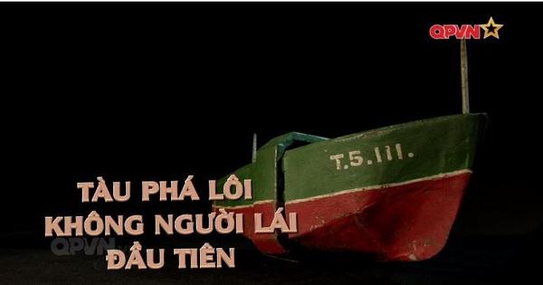Tàu phá lôi không người lái đầu tiên của Việt Nam