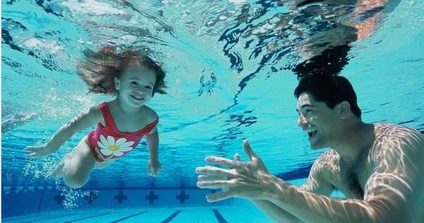 các kiểu tập bơi