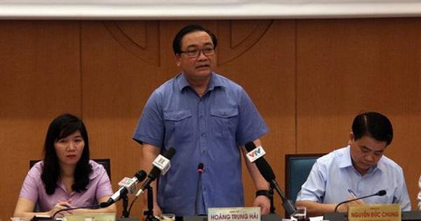 Bí thư Thành ủy Hà Nội: Không nghỉ thứ Bảy, Chủ nhật để dập dịch sốt xuất huyết