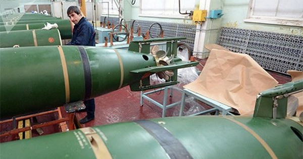 Nga phát triển ngư lôi trang bị công nghệ trí thông minh nhân tạo