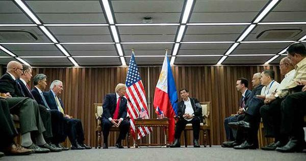 Tuyên bố chung Mỹ – Philippines phản đối quân sự hóa biển Đông