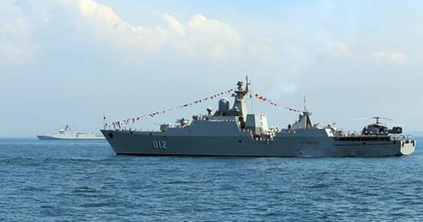 Tàu 012 – Lý Thái Tổ tham gia Duyệt binh tàu quốc tế 2017
