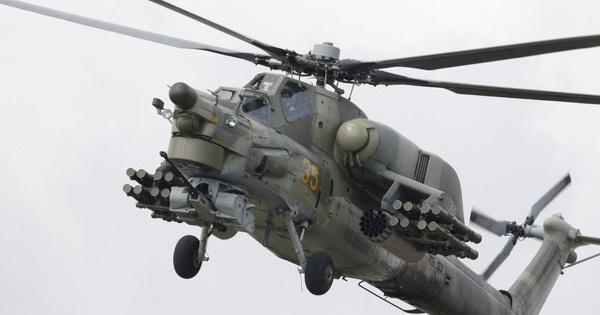 """Trực thăng Mi-28N Nga """"làm mưa làm gió"""", truy diệt IS, yểm trợ quân đội Syria"""