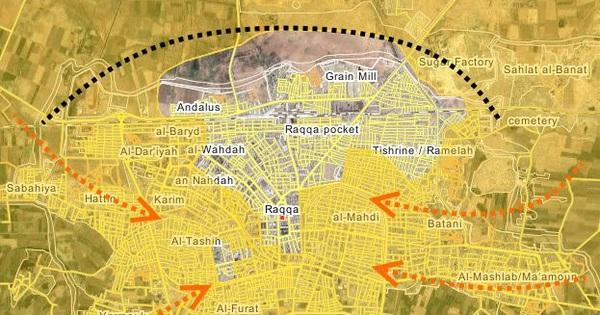 IS phản kích thất bại, hàng loạt tay súng mất mạng tại Raqqa, Syria
