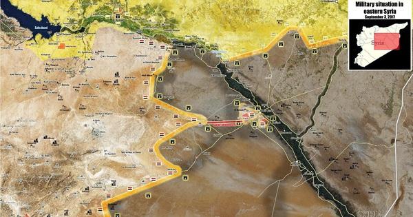 """Giao tranh dữ dội, đặc nhiệm """"Hổ Syria"""" tiến công mãnh liệt, chỉ còn cách Deir Ezzor 18 km"""